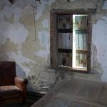 Inside old house