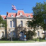 Concho Co. Courthouse, Paint Rock - Roadside Texas