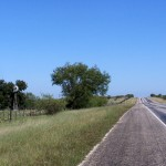Road Goes Ever On and On -  Roadside Texas