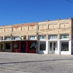 Storefronts in Paint Rock - Roadside Texas
