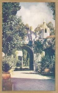 Courtyard, California Exposition, Balboa Park, San Diego