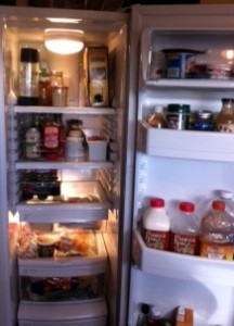 The new refrigerator interior!
