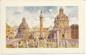Roman Forum, Trajan's Column and Market, Rome