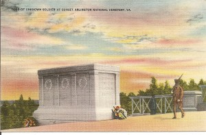 Tomb of the Unknown, Arlington