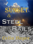 Sunset and Steel Rails Mockup Cover Pics with titles