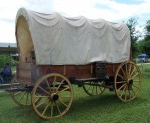 A Family station wagon, 19th century style.