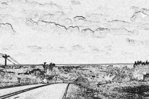 Route 123 - where Joe waits for speeders