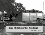 The Luna City Volunteer Fire Department building