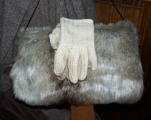 The Magnificent fake fur muff